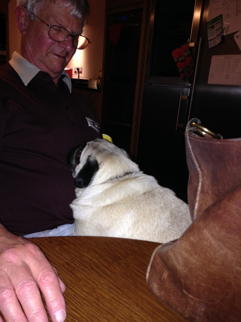 Hogie with Dad